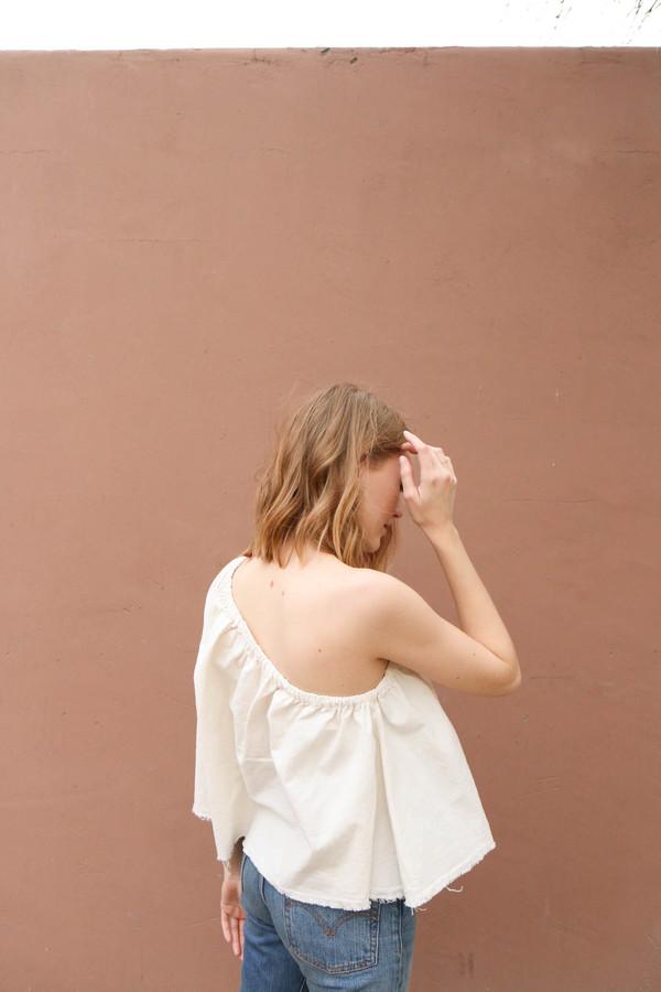 Lauren Winter Ballad Top in Ivory
