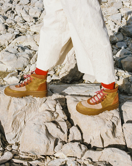 Naguisa Monzon boots - Brown