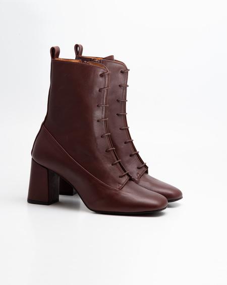 Naguisa Veleta boots - Mahogany
