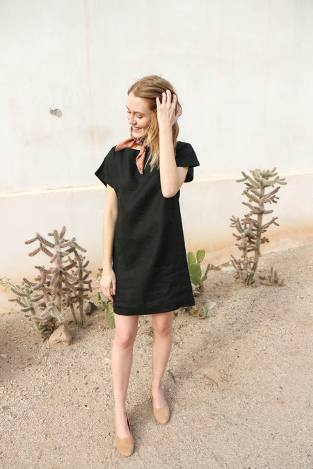 Ozma Weekend Dress in Black