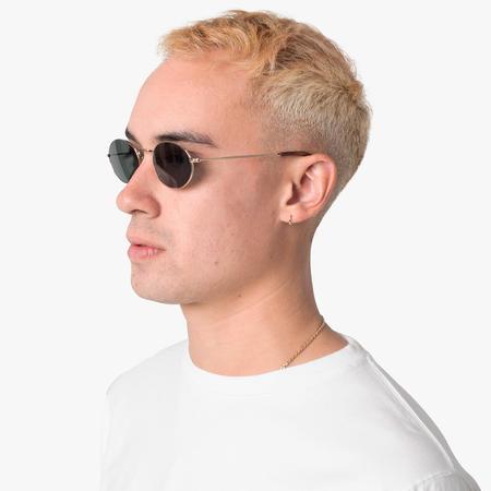 Unisex Sun Buddies Aaliyah Sunglasses - Gold/Tortoise