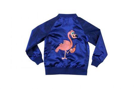 Tao&Friends Marine Flamingo Bomber Jacket
