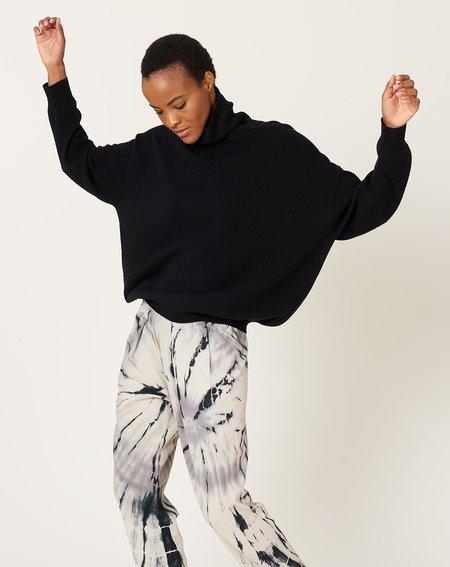 Demy Lee London Turtleneck Sweater - Black