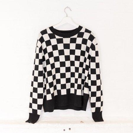 little high, little low PUNK sweater - ANARCHY