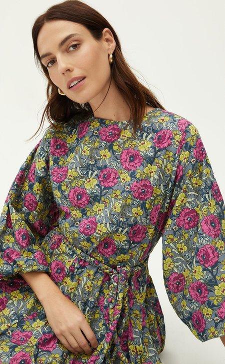 Rhode Resort Ella Dress - Wallpaper Floral