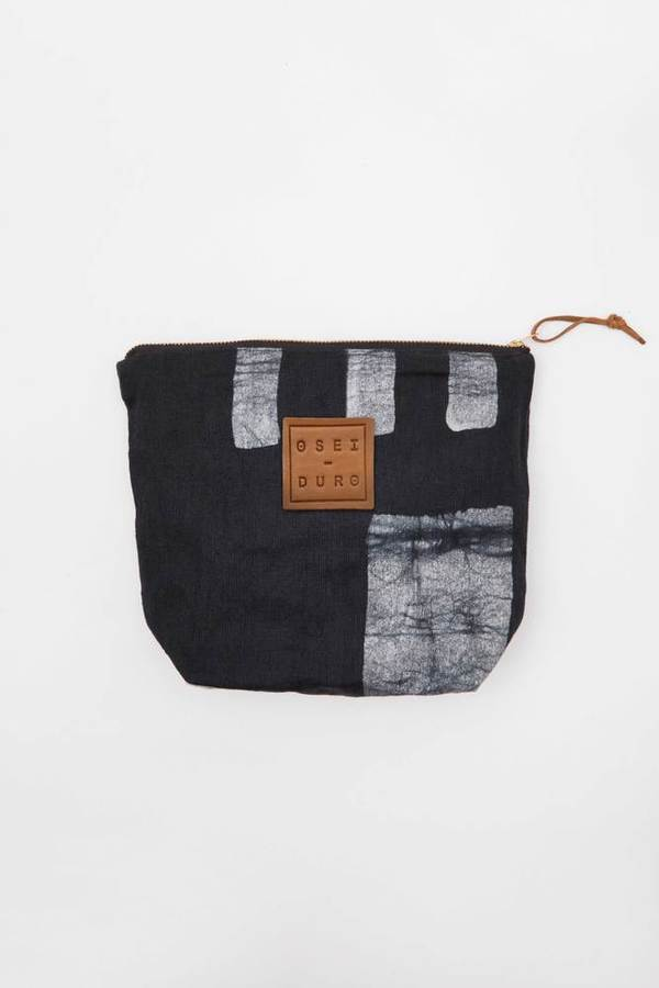 Osei-Duro Stibio Pouch in Black Parallel