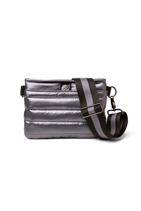 Think Royln Bum Bag Crossbody - Pearl Grey