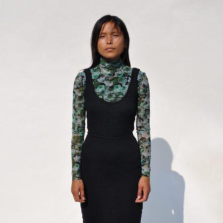Maison Margiela Flip Down Knit Skirt - Black