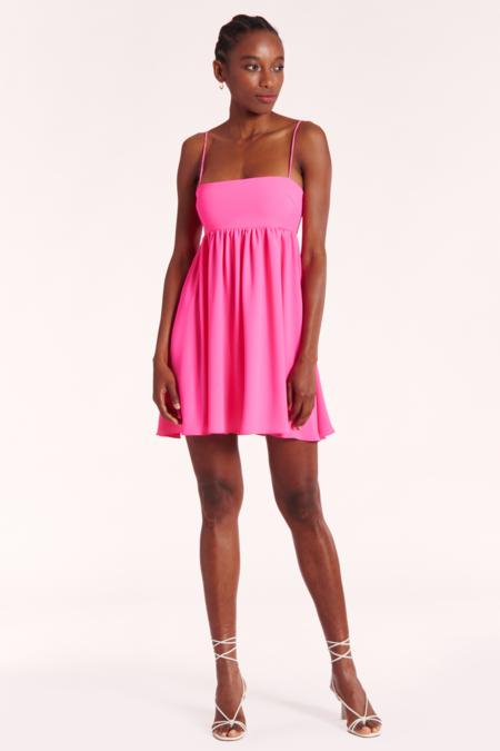 Amanda Uprichard JoJo Dress - Pink Lacquer