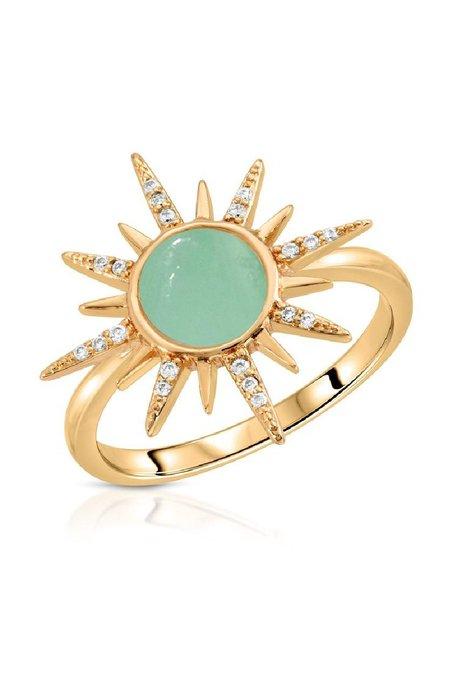 Elizabeth Stone Starburst Gemstone Ring
