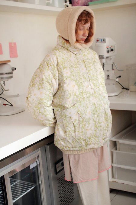 Tambere Olivia Kid's Jacket - Ivory Floral