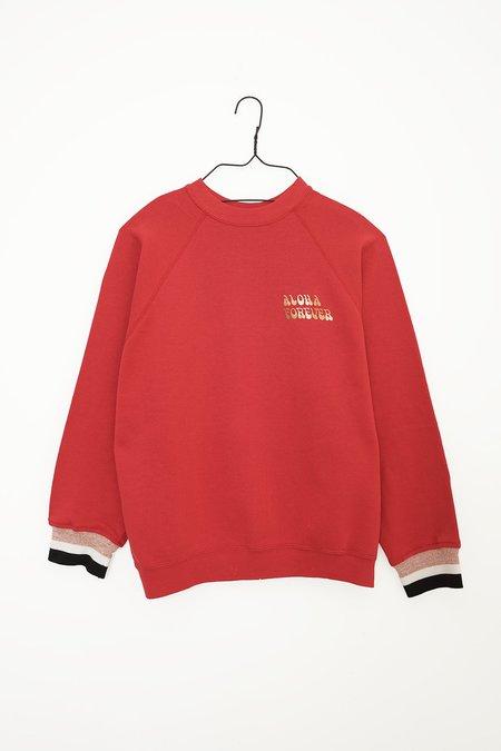 Aquarius Cocktail SAMY #50 sweater - red