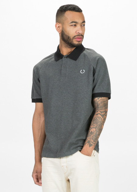 Fred Perry Raglan Sleeve Pique Polo