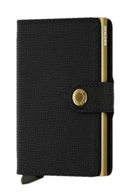 SECRID Mini wallet - Crisple Black Gold