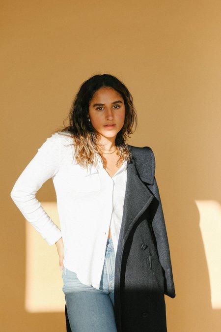 Rails Jersey Button Down shirt - White