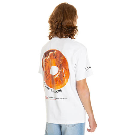 GCDS Regular Candy T-shirt - White