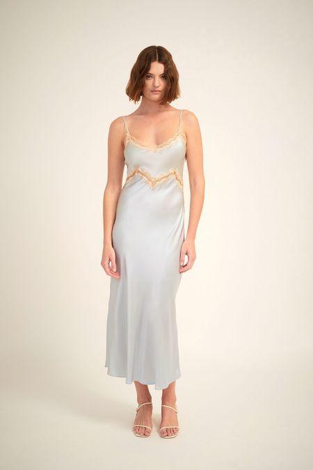 Ginia Hope Lace Dress - Breeze