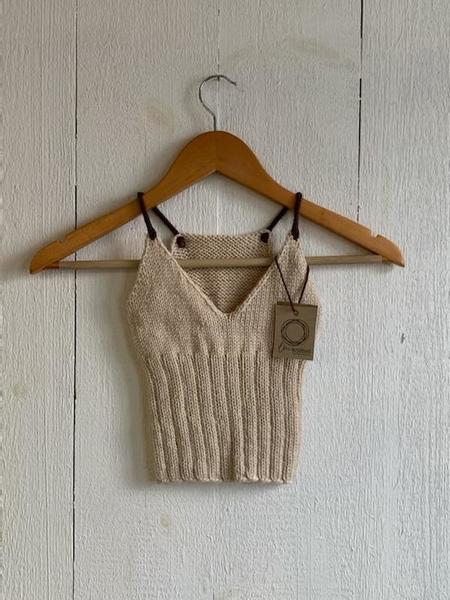 LM Knitted Merino Crop Tanks