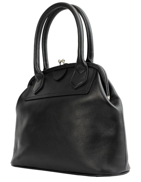 Y's Clasp Bag - Black