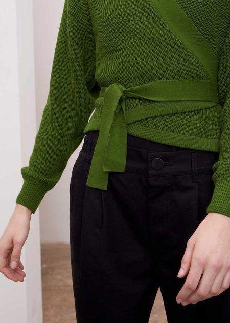Kowtow Composure Cardigan - Green