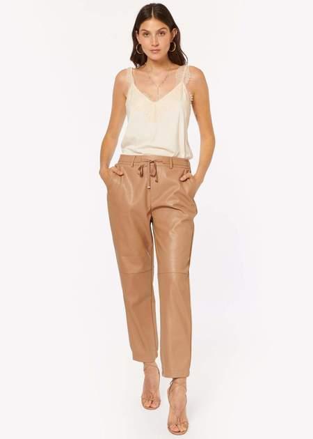 CAMI NYC Adene Vegan Leather Pant - Cortado