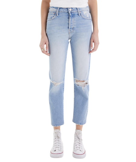 Mother Denim The Scrapper Ankle Jeans - Bless You, Again!
