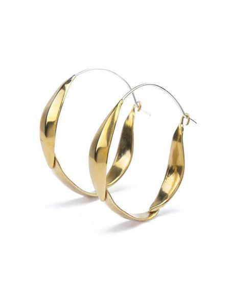 Marisa Mason Pandora Medium Hoop Earrings