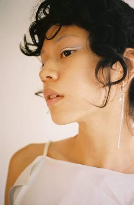 Justine Clenquet Chloe Earrings - brass