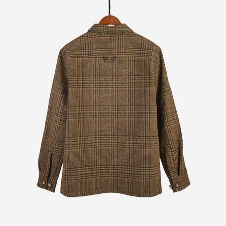 Portuguese Flannel Wool Lined Overshirt - Wood Wool