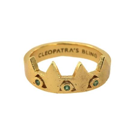 Cleopatra's Bling Maeve with Tsavorite ring - Gold