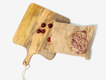 Folkdays x El Puente cutting board - mango wood