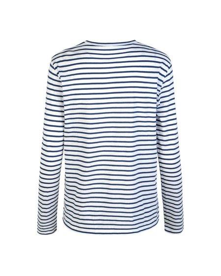 Samsøe & Samsøe Camiseta Nobil LS - Blue Stripe