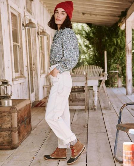 The Great The Carpenter Pant - Natural
