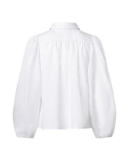 Samsøe & Samsøe Camisa Mejsa - White