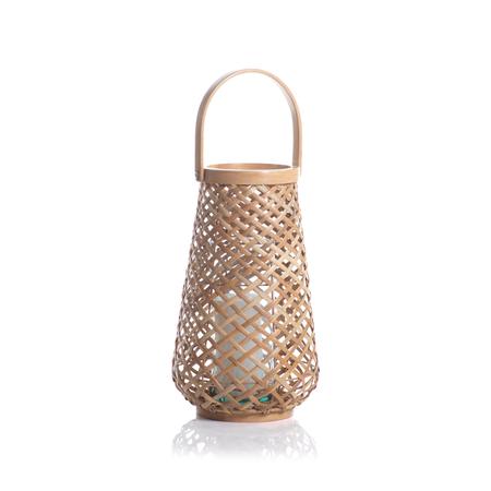 Zodax Maris Rattan Lantern - Natural