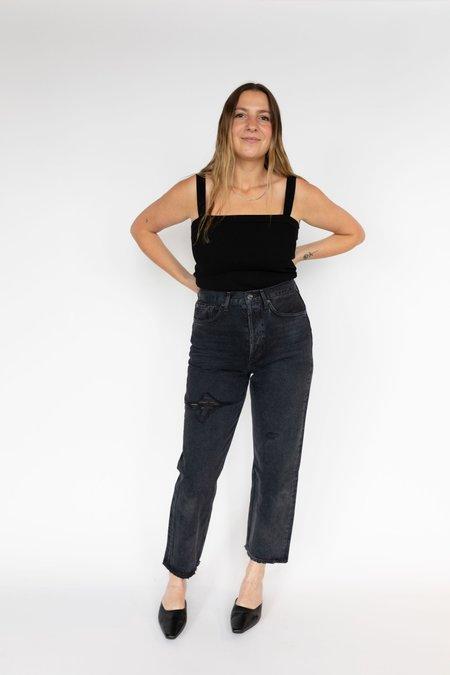 AGOLDE 90's Crop Jeans - Shutter