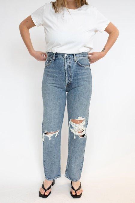 Agolde 90's Pinch Waist Jeans - Backdrop