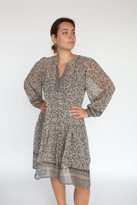 Part Two Kadia Dress - Grey Border Print