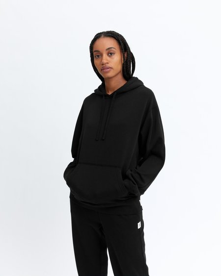 Reigning Champ Lightweight Terry Pullover - BLACK