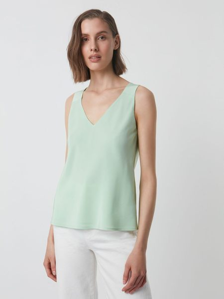 Judith & Charles Tampa Blouse - Pistachio