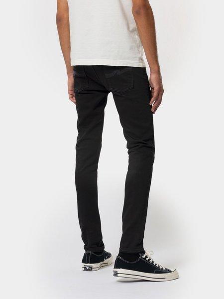 Nudie Jeans Tight Terry Everblack denim - black