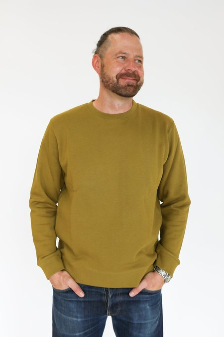 Norse Projects Vagn Classic Crew SWEATER - Brass Yellow