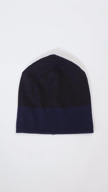 Unisex Sofie D'Hoore Mo Cashmere Hat Beanies - Gray/Navy