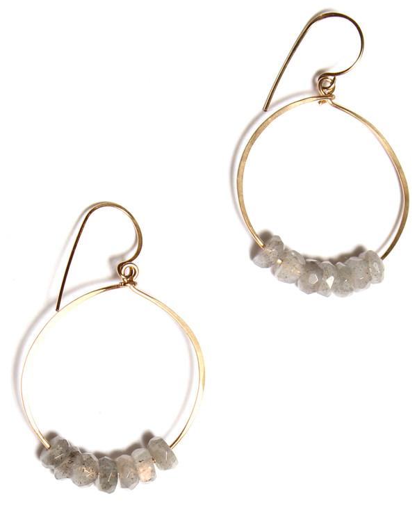 James and Jezebelle 7 Labradorite Earrings