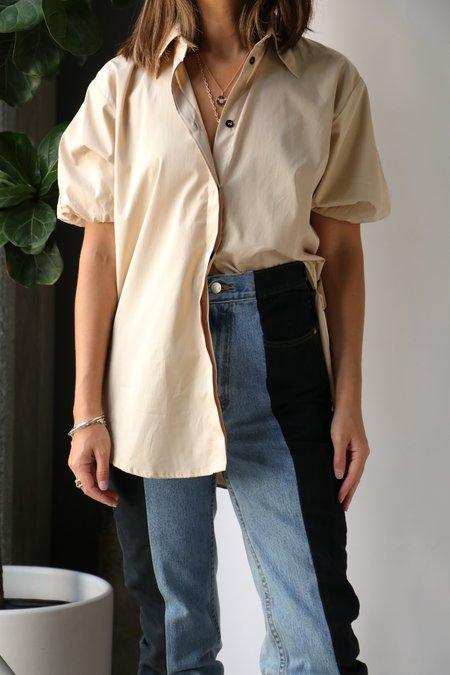 - PuttyEsse Studios Collected Short Sleeve Shirt - Putty