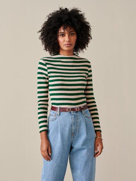 Bellerose Niba Top - Green/Pink Combo