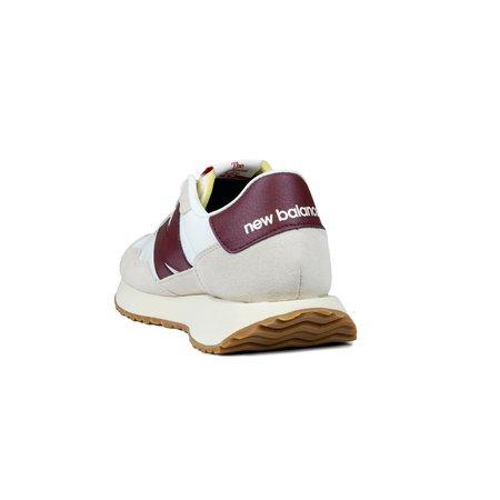 New Balance 237 Sneaker - White/Burgundy