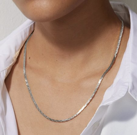 Jenny Bird Rae Chain - Silver