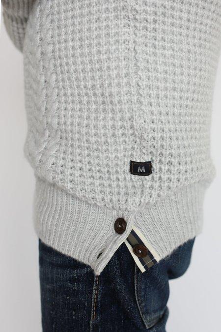 MATINIQUE Gore Heritage Sweater - Light Grey Melange