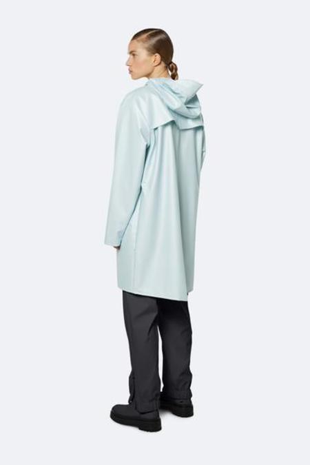 Unisex Rains Long Jacket - Ice